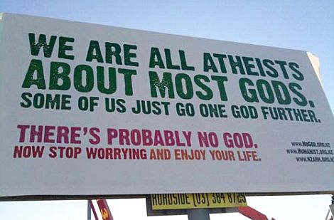Foreign Atheist Billboard